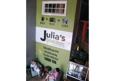 full julias wall